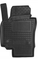 Коврик в салон водительский для Seat Altea / Altea XL '07-15 резиновый, черный (AVTO-Gumm)