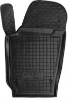 Коврик в салон водительский для Seat Ibiza '12- резиновый, черный (AVTO-Gumm)