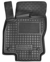 Коврик в салон водительский для Skoda Octavia A7 '13-20 резиновый, черный (AVTO-Gumm)