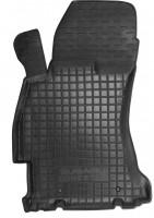 Коврик в салон водительский для Subaru Forester '13-18 резиновый, черный (AVTO-Gumm)