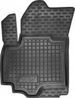 Коврик в салон водительский для Suzuki SX4 '06-14 резиновый, черный (AVTO-Gumm)
