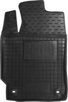 Коврик в салон водительский для Toyota Camry V50/55 c 2011 резиновый, черный (AVTO-Gumm)