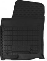 Коврик в салон водительский для Toyota LC Prado 150 '10- резиновый, черный (AVTO-Gumm)
