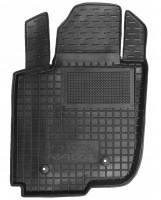 Коврик в салон водительский для Toyota RAV4 '06-12 резиновый, черный (AVTO-Gumm)