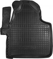 Коврик в салон водительский для Volkswagen Crafter '06-16 резиновый, черный (AVTO-Gumm)