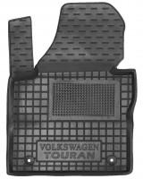 Коврик в салон водительский для Volkswagen Touran '03-15 резиновый (AVTO-Gumm)