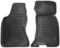 Коврики в салон передние для Audi A6 '97-05 резиновые, черные (AVTO-Gumm)