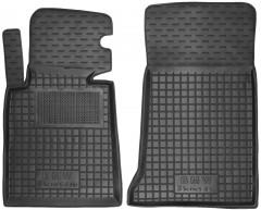Коврики в салон передние для BMW 3 E46 '98-06 резиновые, черные (AVTO-Gumm)