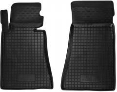Коврики в салон передние для BMW 5 E34 '88-96 резиновые, черные (AVTO-Gumm)