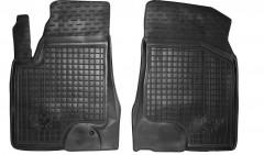 Коврики в салон передние для BYD S6 '10- резиновые, черные (AVTO-Gumm)
