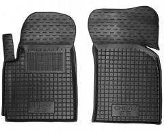 Коврики в салон передние для Chery E5 '12- резиновые, черные (AVTO-Gumm)
