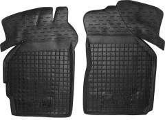 Коврики в салон передние для Chery QQ '12- резиновые, черные (AVTO-Gumm)