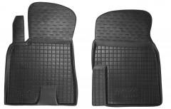 Коврики в салон передние для Chery Tiggo '12-14 резиновые, черные (AVTO-Gumm)