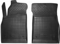 Коврики в салон передние для Chevrolet Cruze '09- резиновые, черные (AVTO-Gumm)