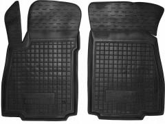 Коврики в салон передние для Chevrolet Tracker '13- резиновые, черные (AVTO-Gumm)