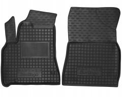 Коврики в салон передние для Citroen Berlingo '11- резиновые, черные (AVTO-Gumm)