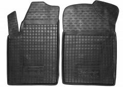 Коврики в салон передние для Citroen Berlingo '97-07 резиновые, черные (AVTO-Gumm)