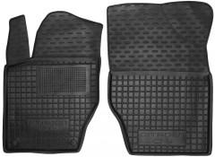 Коврики в салон передние для Citroen C4 / DS4 '11- резиновые, черные (AVTO-Gumm)