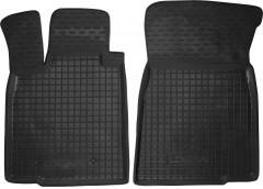 Коврики в салон передние для Dacia Logan MCV '06-12/Largus 12- резиновые, черные (AVTO-Gumm)