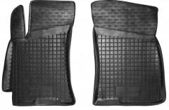 Коврики в салон передние для Daewoo Lanos / Sens '05- резиновые, черные (AVTO-Gumm)