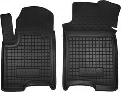 Коврики в салон передние для Fiat Panda '12- резиновые, черные (AVTO-Gumm)