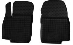 Коврики в салон передние для Ford B-Max '12- резиновые, черные (AVTO-Gumm)