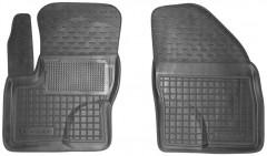 Коврики в салон передние для Ford C-Max '07-10 резиновые, черные (AVTO-Gumm)