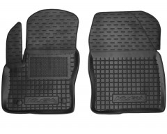Коврики в салон передние для Ford Kuga '08-13 резиновые, черные (AVTO-Gumm)