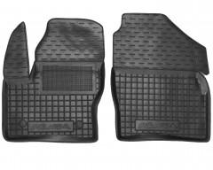 Коврики в салон передние для Ford Kuga '13- резиновые, черные (AVTO-Gumm)