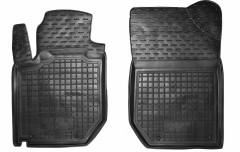 Коврики в салон передние для Geely LC Cross /GX2 '10- резиновые (AVTO-Gumm)