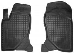 Коврики в салон передние для Great Wall Hover / H3 '05- резиновые, черные (AVTO-Gumm)