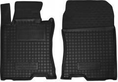 Коврики в салон передние для Honda Accord 8 '08-13 EUR резиновые, черные (AVTO-Gumm)