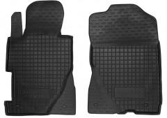 Коврики в салон передние для Honda Civic 4D '06-12 седан резиновые, черные (AVTO-Gumm)
