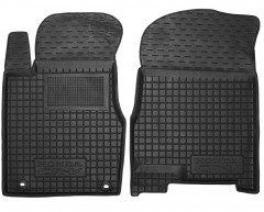 Коврики в салон передние для Honda CR-V '06-12 резиновые, черные (AVTO-Gumm)