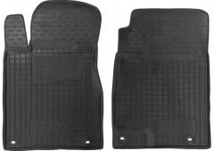 Коврики в салон передние для Honda CR-V '12- резиновые, черные (AVTO-Gumm)