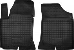 Коврики в салон передние для Hyundai i30 FD '07-12 резиновые, черные (AVTO-Gumm)