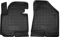 Коврики в салон передние для Hyundai ix-35 '10-15 резиновые, черные (AVTO-Gumm)