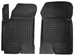 Коврики в салон передние для Kia Cerato '04-09 резиновые, черные (AVTO-Gumm)