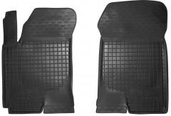 Коврики в салон передние для Kia Cerato '09-13 резиновые, черные (AVTO-Gumm)