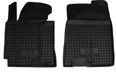 Коврики в салон передние для Kia Cerato '13-17 резиновые, черные (AVTO-Gumm)