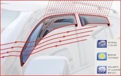 Дефлекторы окон для Ford Transit '06-13, широк. (Cobra)