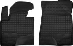 Коврики в салон передние для Kia Sorento '10-13 XM резиновые, черные (AVTO-Gumm)