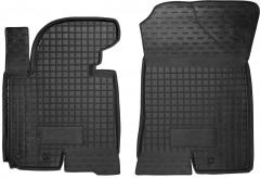 Коврики в салон передние для Kia Sportage '10-15 резиновые, черные (AVTO-Gumm)