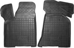 Коврики в салон передние для Lada (Ваз) 2110-12 '95- резиновые, черные (AVTO-Gumm)