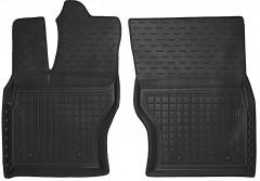 Коврики в салон передние для Land Rover Range Rover Vogue '13- резиновые, черные (AVTO-Gumm)