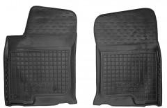 Коврики в салон передние для Lexus GX  '09- резиновые, черные (AVTO-Gumm)