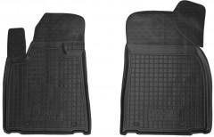 Коврики в салон передние для Lexus RX '09-15 резиновые, черные (AVTO-Gumm)
