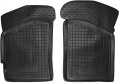 Коврики в салон передние для Lifan 320 '11- резиновые, черные (AVTO-Gumm)
