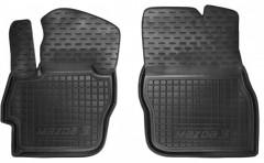 Коврики в салон передние для Mazda 3 '09-13 резиновые, черные (AVTO-Gumm)