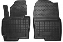 Коврики в салон передние для Mazda CX-5 '12-17 резиновые, черные (AVTO-Gumm)